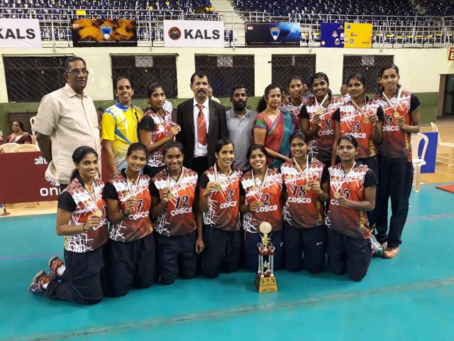 kerala women volleyball team 2019