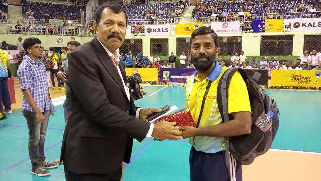 sadanandan volley coach